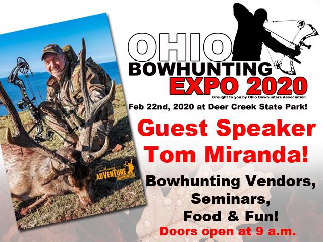 2020 Ohio Bowhunter's Association Bowhunter Expo and Awards Banquet